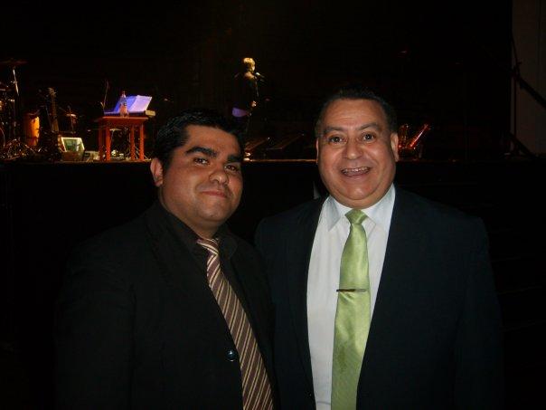 Junto a Pedro Vilches