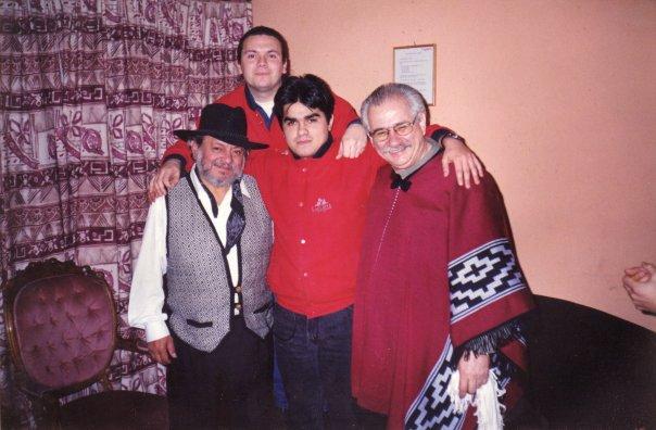 Junto a Tito Fernandez y Cia